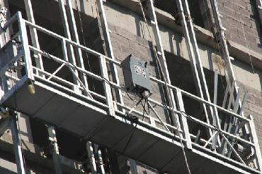 ce godkendt zlp serie suspenderet wire reb platform zlp500, zlp630, zlp800, zlp1000