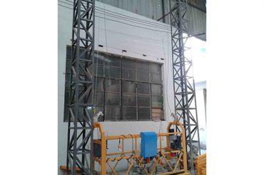 10m drevet aluminiumskabelophænget platform zlp1000 enkeltfase 2 * 2,2kw