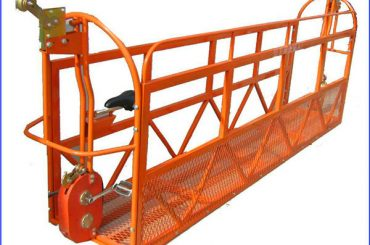 1000 kg 7,5 mx 3 sektioner Aluminiumlegering Suspended Arbejdsplatform ZLP1000