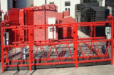 bygning rengøring ophængt arbejdsplatform zlp800 med 800kg nominel belastning