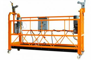 ce certificeret aluminiumsophængt arbejdsplatform zlp1000 motorkraft 2.2kw