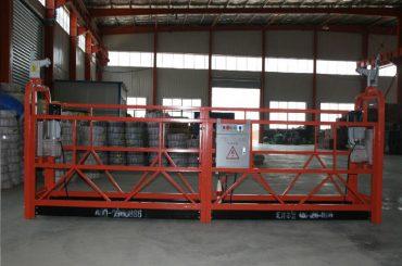 gaffeltruck ophængt platform vugge justerbar arbejdsplatform