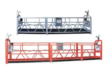10m stål / aluminium suspenderet adgangsudstyr zlp1000 til 3 personers arbejde