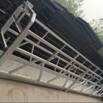 zlp630 / 800 ll form aluminiumlegering, stålkonstruktion hævet arbejdsplatformløft på bygningsvinduer