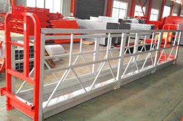 2 sektioner 500 kg suspenderet arbejdsplatform med 3 typer modvægt