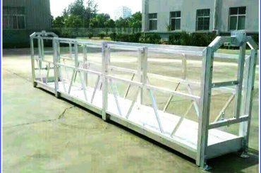 Stål / Aluminiumsophængte Arbejdsplatforme med Sal-serien Sikkerhedslås