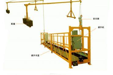 Fabrikssalg af god kvalitet elektrisk hejsning til hængende platform fra direkte producent