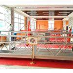 zlp630 aluminiumophænget platform (ce iso gost) / højhus vinduesrengøringsudstyr / midlertidig gondol / vugge / swing stadium hot