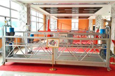 ZLP630 aluminiumophænget platform (CE ISO GOST) / højopstødningsrengøringsudstyr / midlertidig gondol / vugge / svingstadium hot
