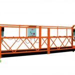 2,5mx 3 sektioner 1000kg suspenderet adgang platform løftehastighed 8-10 m / min