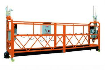 2.5M x 3 sektioner 1000kg Suspended Access Platform Løftehastighed 8-10 m / min