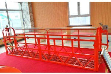 Steel Suspended Access Platforms 7,5m 1,8kw 800kg Bygningsvedligeholdelse