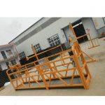 zlp serie stål eller aluminium suspenderet reb platform