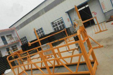 Pålidelig ZLP630 Maleri Stålophængt Arbejdsplatform Til Bygningskonstruktion (2)