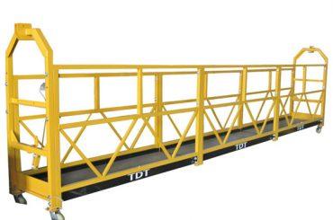 Stål Hot Galvaniseret Aluminium Alloy Reb Suspended Platform 1.5KW 380V 50HZ