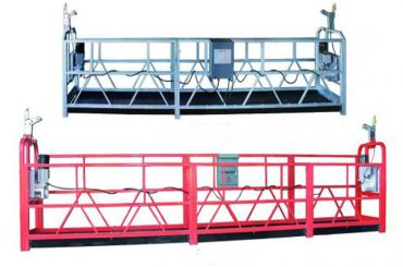 zlp 630 reb ophængt platform antenne arbejde swing stadium stillads med plast spray malet
