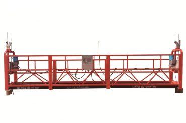 stål / varmgalvaniseret midlertidigt ophængt platform, zlp500 vedligeholdelsesvugge