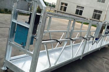 vinduesrengøring zlp630 reb ophængt platform gondolvugge med hejse ltd6.3