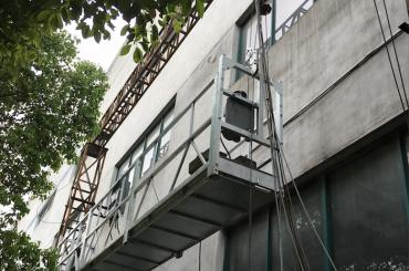 zlp1000 2.5m * 3 2.2kw 8kn suspenderede adgangskanaler med elektrisk styringssystem