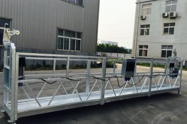 justerbar aluminiumslegeret reb-ophængt platform zlp 800 til renovering / maling