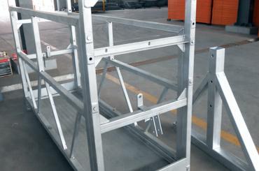 høj sikkerhedslængde ophængt platform elevatorer installationsplatform zlp630 zlp800 zlp1000