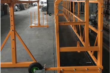 vinduesrengøring ophængt arbejdsplatforms sikkerhed zlp 630 med hejse ltd6.3