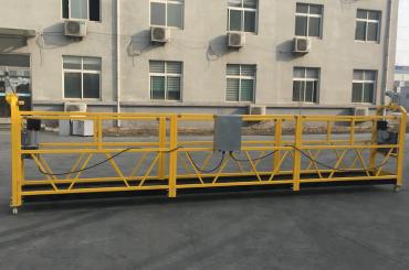 ce certificeret zlp630 aluminium elektrisk hængende gondol til konstruktion