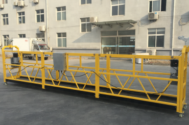 kraftfuld 6 meter reb suspenderet gondol platform med stråle overhæng