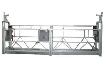 højhus aluminiumslegering zlp800 ophængt arbejdsplatform til vinduesrensning