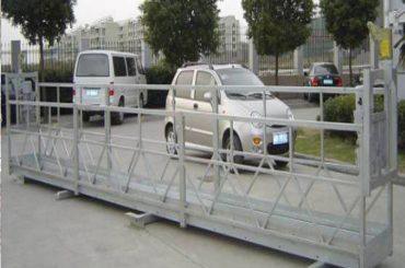 2,5mx 3 sektioner stillads arbejdsplatforme 800kg aluminium med sikkerhedslås 30kn