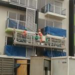 konstruktion vedligeholdelse reb suspenderet platform med hejsen ltd8.0 zlp800